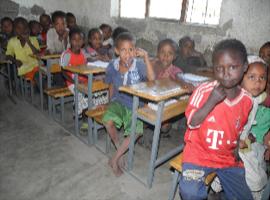 Desks for Ethiopia